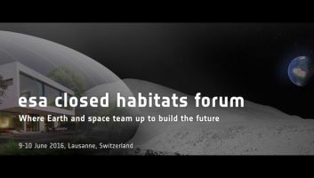 ESA Closed Habitats Forum