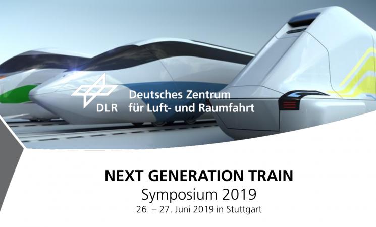 Andreas Vogler speaks at NEXT GENERATION TRAIN Symposium 2019
