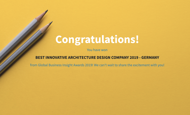Global Business Insight 2019 Innovative Architecture Award